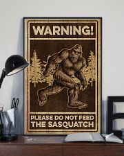 Please do not feeed the sasquatch 11x17 Poster lifestyle-poster-2