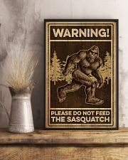 Please do not feeed the sasquatch 11x17 Poster lifestyle-poster-3