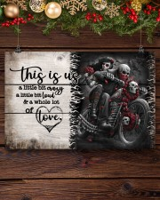 This is us - Motorcycles Skull 17x11 Poster aos-poster-landscape-17x11-lifestyle-27