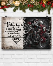 This is us - Motorcycles Skull 17x11 Poster aos-poster-landscape-17x11-lifestyle-28