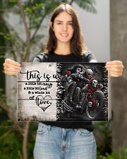 This is us - Motorcycles Skull 17x11 Poster poster-landscape-17x11-lifestyle-19