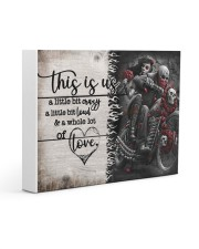 This is us - Motorcycles Skull 14x11 Gallery Wrapped Canvas Prints thumbnail