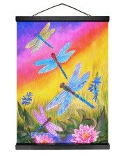 Dragonfly  12x16 Black Hanging Canvas thumbnail
