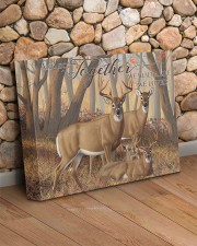 And so together - Deer love 14x11 Gallery Wrapped Canvas Prints aos-canvas-pgw-14x11-lifestyle-front-18