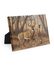 And so together - Deer love 10x8 Easel-Back Gallery Wrapped Canvas thumbnail