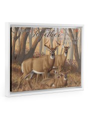 And so together - Deer love 14x11 White Floating Framed Canvas Prints thumbnail