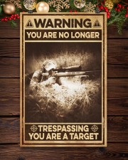 You are no longer - you are a target 11x17 Poster aos-poster-portrait-11x17-lifestyle-22