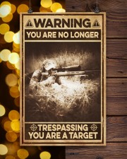 You are no longer - you are a target 11x17 Poster aos-poster-portrait-11x17-lifestyle-24