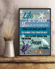 is like the ocean waves will try to knock you  11x17 Poster lifestyle-poster-3