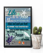 is like the ocean waves will try to knock you  11x17 Poster lifestyle-poster-8