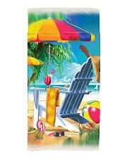 Beach love turtle Beach Towel tile