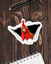 Chicken Love - Buy more save more  Sticker - Single (Horizontal) aos-sticker-single-horizontal-lifestyle-front-05