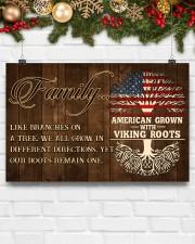 Family - Viking 17x11 Poster aos-poster-landscape-17x11-lifestyle-28