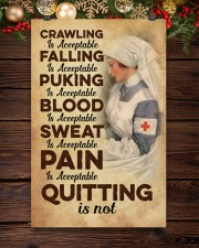 Quitting is no - Nurse 11x17 Poster aos-poster-portrait-11x17-lifestyle-22
