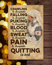 Quitting is no - Nurse 11x17 Poster aos-poster-portrait-11x17-lifestyle-24