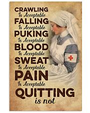 Quitting is no - Nurse 11x17 Poster front