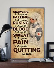 Quitting is no - Nurse 11x17 Poster lifestyle-poster-2