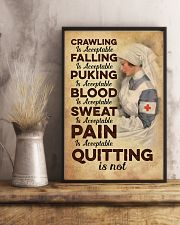 Quitting is no - Nurse 11x17 Poster lifestyle-poster-3