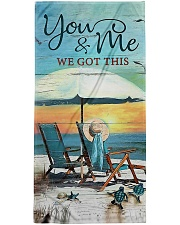 You and me we got this  Premium Beach Towel front