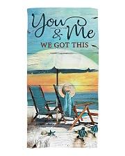 You and me we got this  Beach Towel thumbnail