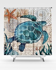 Love Turtle Shower Curtain aos-shower-curtains-71x74-lifestyle-front-02