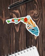 Florida Love Sticker - Single (Horizontal) aos-sticker-single-horizontal-lifestyle-front-05