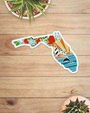 Florida Love Sticker - Single (Horizontal) aos-sticker-single-horizontal-lifestyle-front-07