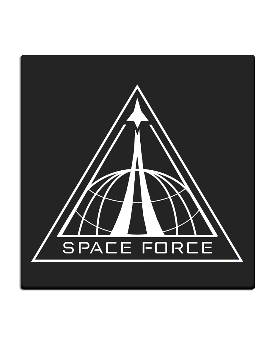Space Force - Netflix Square Coaster