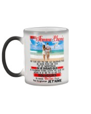 Ma Femme Cherie - Je T'Aime Color Changing Mug color-changing-left