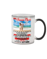Ma Femme Cherie - Je T'Aime Color Changing Mug color-changing-right