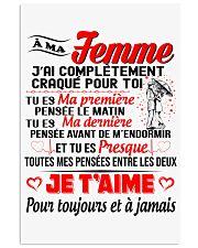 Ma Femme - Je T'Aime 11x17 Poster thumbnail