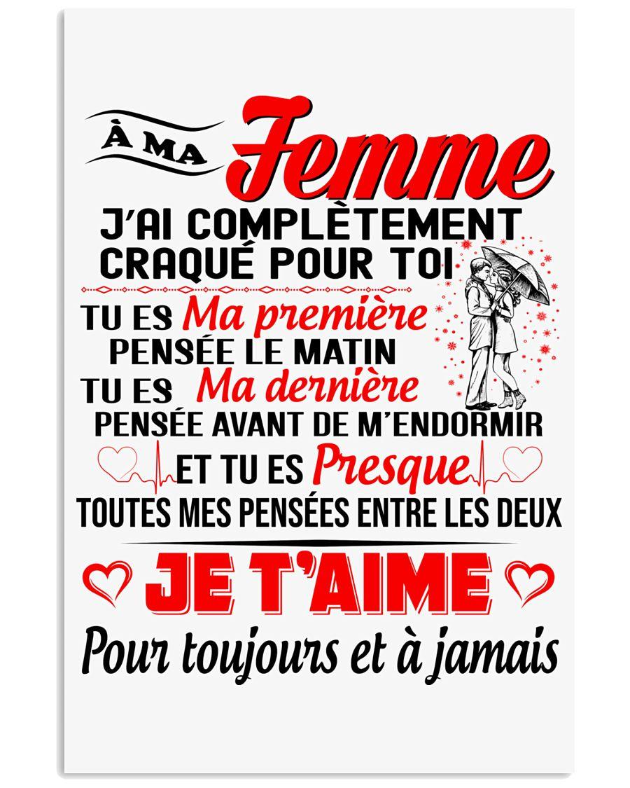 Ma Femme - Je T'Aime 24x36 Poster
