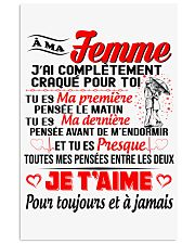 Ma Femme - Je T'Aime 24x36 Poster front