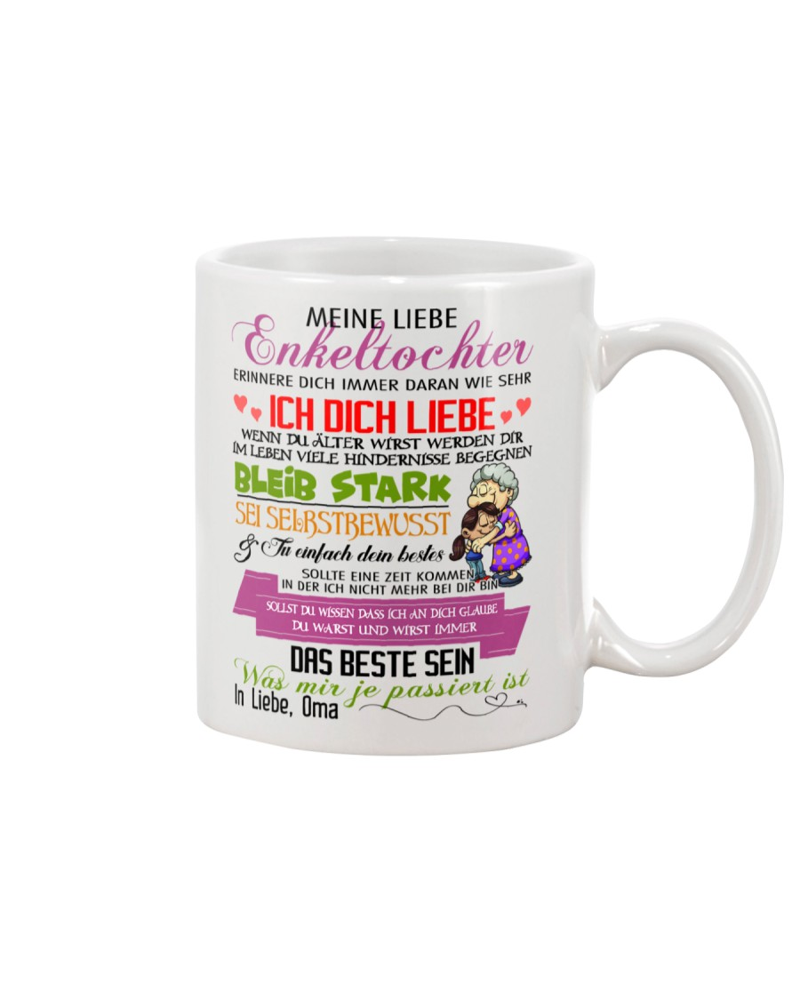 Meine Liebe Enkeltochter - Ich Liebe Dich Mug