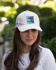 What summer Embroidered Hat garment-embroidery-hat-lifestyle-07