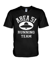 AREA 51 RUNNING TEAM V-Neck T-Shirt thumbnail