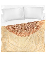 Esplendor Luxurious Mandala Mehndi Mystical Floral Duvet Cover - King thumbnail