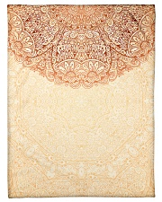 "Esplendor Luxurious Mandala Mehndi Mystical Floral Small Fleece Blanket - 30"" x 40"" thumbnail"