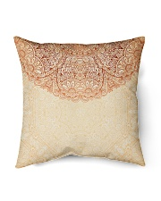 "Esplendor Luxurious Mandala Mehndi Mystical Floral Indoor Pillow - 16"" x 16"" thumbnail"