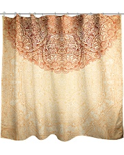 Esplendor Luxurious Mandala Mehndi Mystical Floral Shower Curtain thumbnail