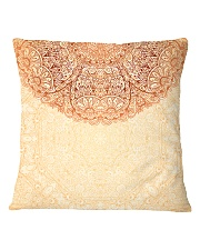 Esplendor Luxurious Mandala Mehndi Mystical Floral Square Pillowcase thumbnail
