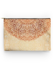 Esplendor Luxurious Mandala mehndi Mystical Floral Accessory Pouch - Large thumbnail