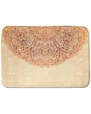 """Esplendor Luxurious Mandala mehndi Mystical Floral Bath Mat - 24"""" x 17"""" thumbnail"""