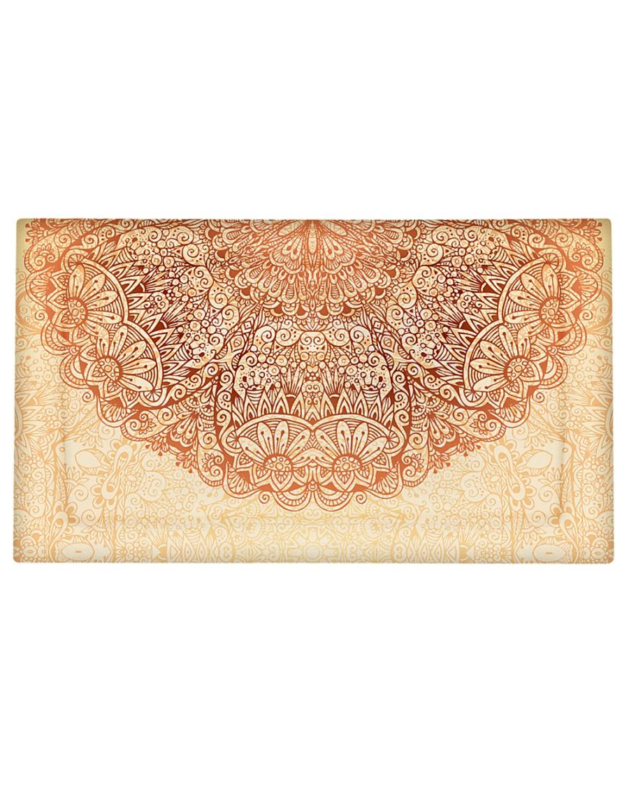 Esplendor Luxurious Mandala mehndi Mystical Floral Pillow Sham - King