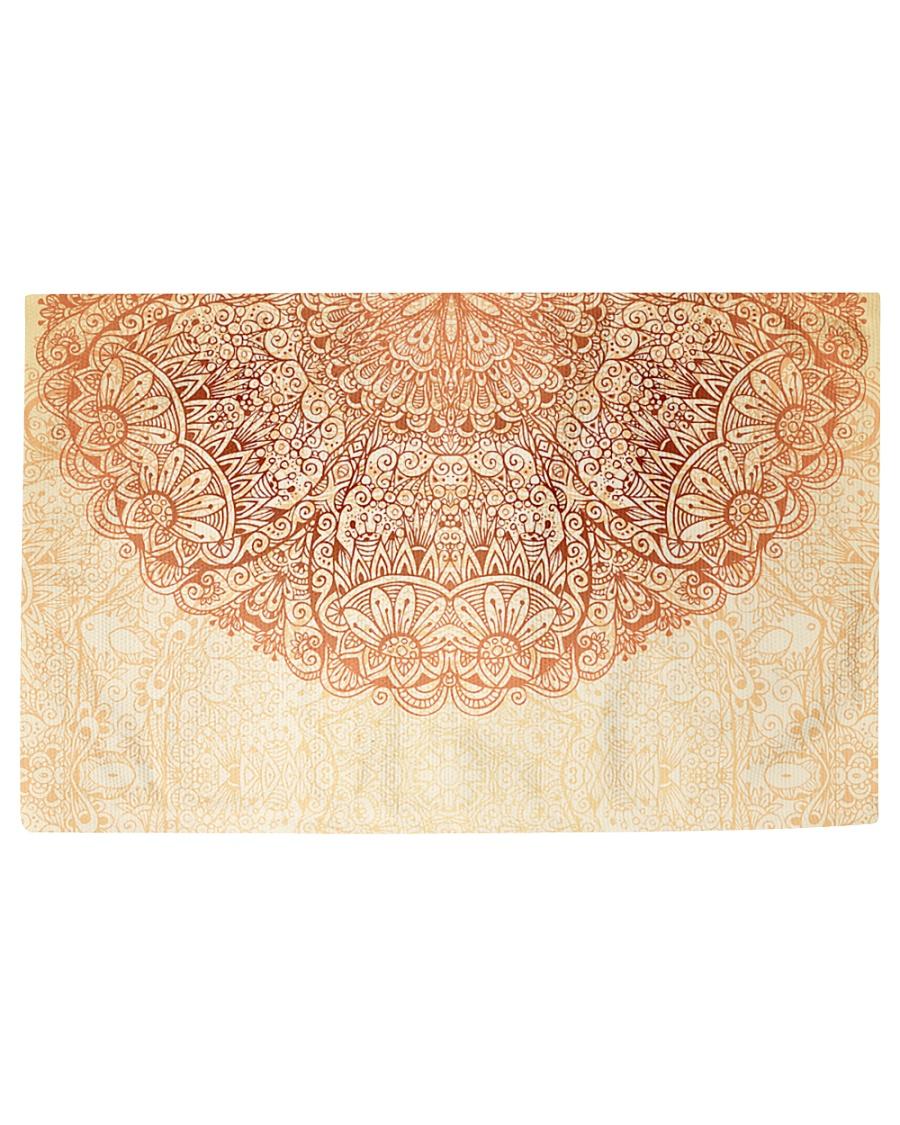 Esplendor Luxurious Mandala mehndi Mystical Floral Woven Rug - 3' x 2'