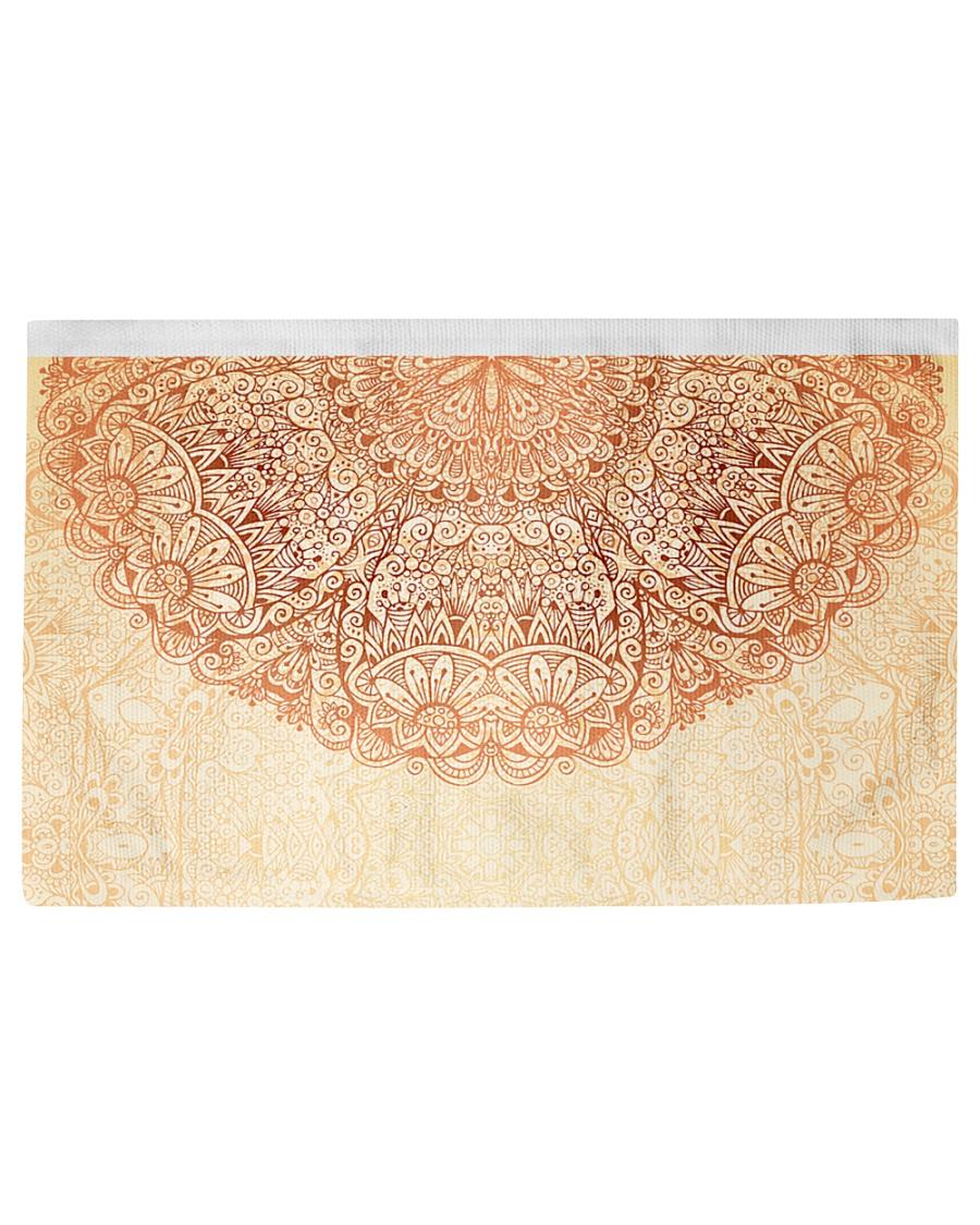 Esplendor Luxurious Mandala mehndi Mystical Floral Woven Rug - 6' x 4'