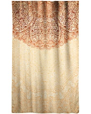 Esplendor Luxurious Mandala mehndi Mystical Floral Window Curtain - Sheer thumbnail