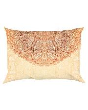 Esplendor Luxurious Mandala mehndi Mystical Floral Rectangular Pillowcase back