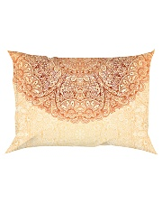 Esplendor Luxurious Mandala mehndi Mystical Floral Rectangular Pillowcase thumbnail