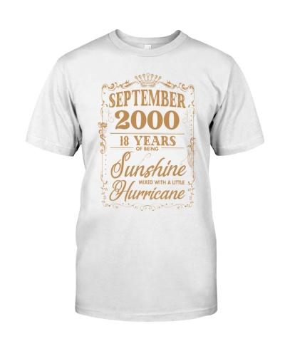 Birthday September 2000